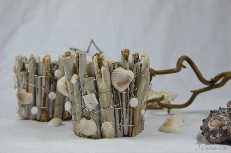 DIY-Teelichthalter in Vintage-Maritim-Look