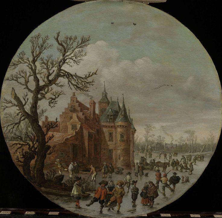 Winter, Jan van Goyen, 1625
