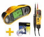 Electricians choice Fluke 1651b multi-function tester perfect for part P installations & basic domestic testing with large LCD screen. http://fluke1651btesterbyvfmmeters.blog.com/