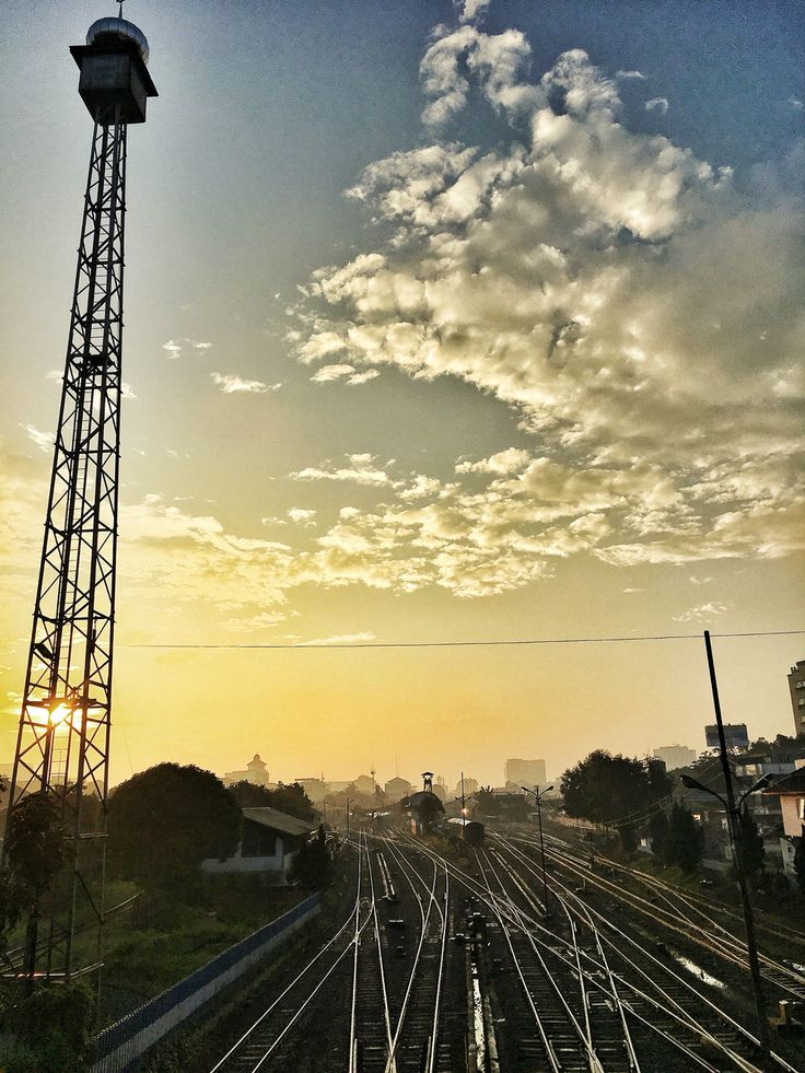 Sunrise @Bandung Station...