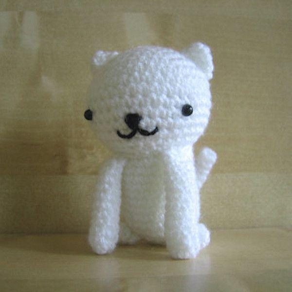 Sitting Cats Free Crochet Amigurumi Pattern | toys | Pinterest ...
