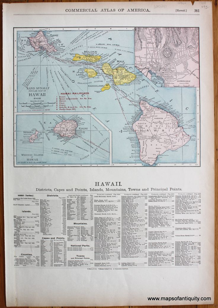 19 best maps and prints of hawaii images on pinterest antique maps antique 1909 map of hawaii with info below the map available in gumiabroncs Choice Image
