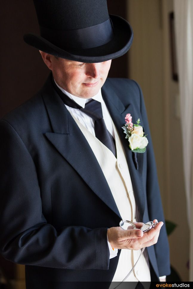 Love this grooms top hat