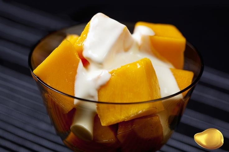 Mango and cream
