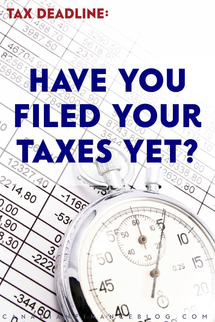 The tax deadline to file your return is coming up soon. 40% of all the returns the CRA receives are filed in the final week. Are you one of these late filers?