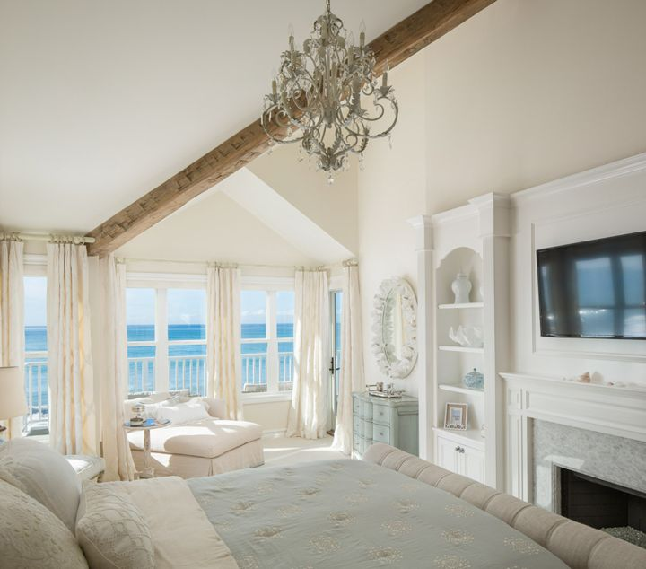 Beach Chic Coastal Cottage Home Tour With Breezy Design: 17 Best Ideas About Coastal Bedrooms On Pinterest