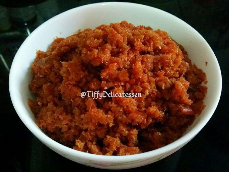 Tiffy Delicatessen: Hae Bee Hiam ( Dried Shrimp Sambal Belacan Chilli)...