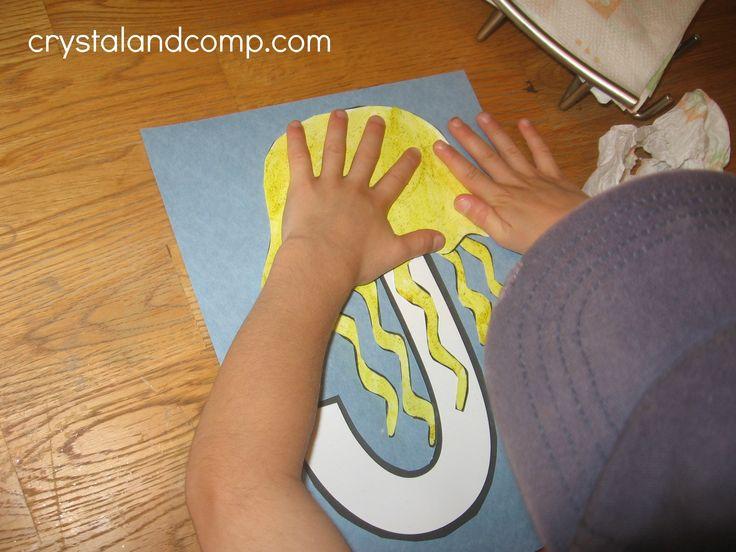 alphabet activities for preschoolers: j is for jellyfish
