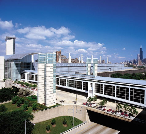 North America's largest convention centre 'McCormick Place' has been presenting numerous trade shows and meetings.