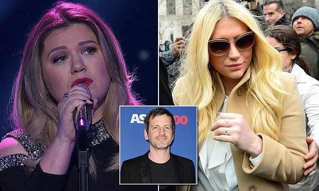 Kelly Clarkson reveals she was 'blackmailed' into working with Dr Luke