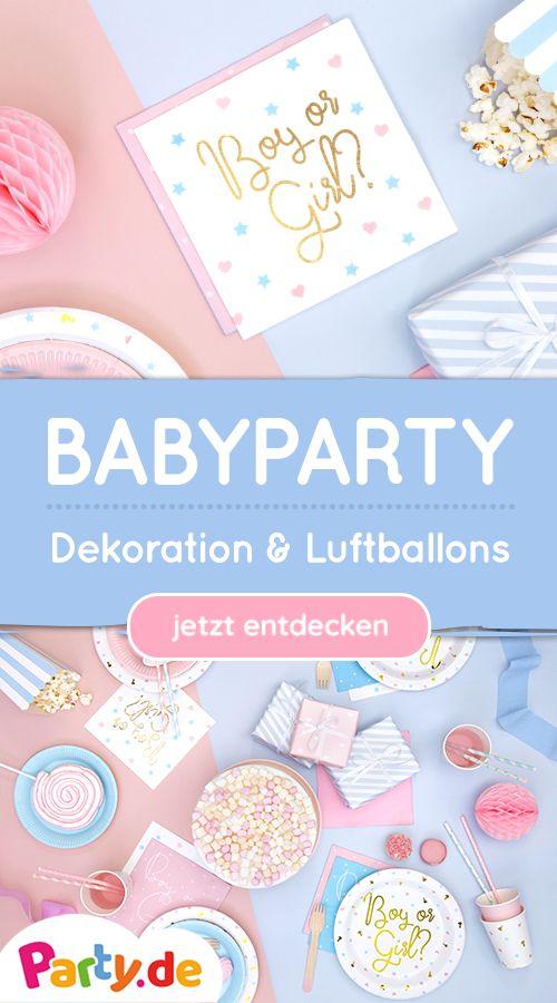 Babyparty & Babyshower Dekoration   – Wir ♥ Babypartys