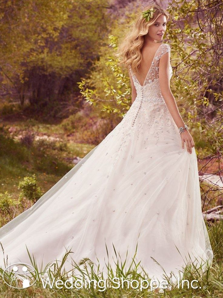 Maggie Sottero Bridal Gown Freesia / 7MS334