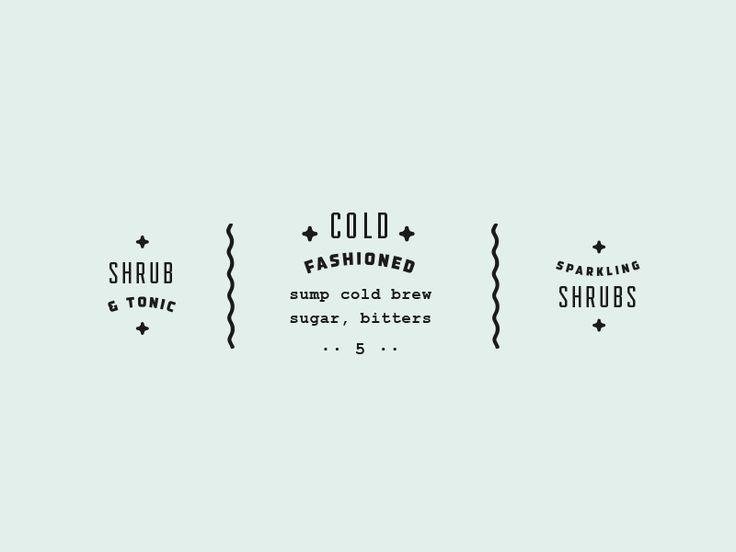 + cold fashioned +