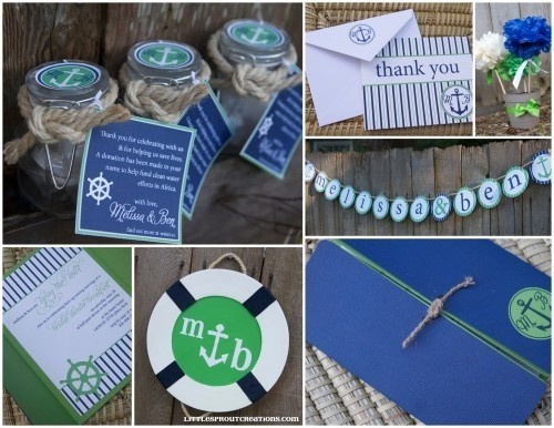 bridal colors 70 best nautical bridal shower images on 27748