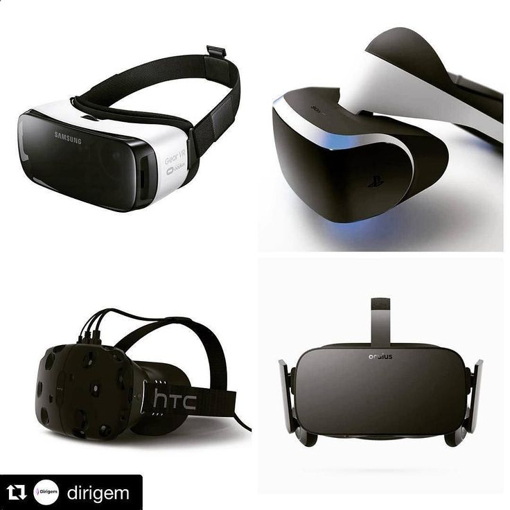 An awesome Virtual Reality pic! OCULUS RIFT PLAYSTATIONVR SAMSUNG GEAR VR HTC VIVE 1. Oculus RIft Harga : $ 600 Spesifikasi : 1. Resolution : 2160 x 1200 2. Refresh Rate : 90 Hz / eye display 3. Field of View : Approx. 110 degrees 4. Sensors : Accelerometer gyroscope magnetometer external Constellation tracking sensor array 5. Connections : HDMI 1.3 output three USB 3.0 ports and a USB 2.0 port 6. Audio : Built-in headphones and mic 3D audio 7. Input : Oculus Touch Xbox One controller ...