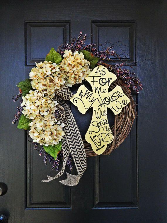 The 25+ best Cross wreath ideas on Pinterest | Cross ...