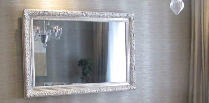 Flat Screen TV Mirror | Luxury TV Frames, Mirror TVs and Hidden TV's | Frame Your TV.  Great idea to hide the flat screen tv!