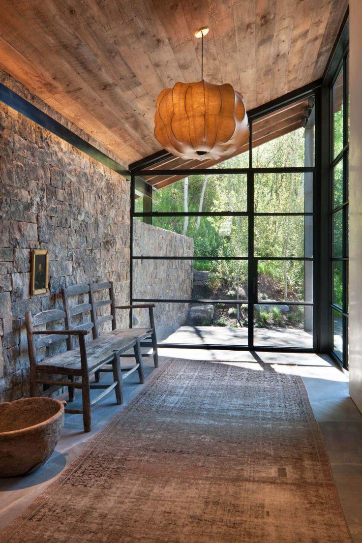 Modern Mountain Home Designed For An Artist In The Slopes Of Aspen