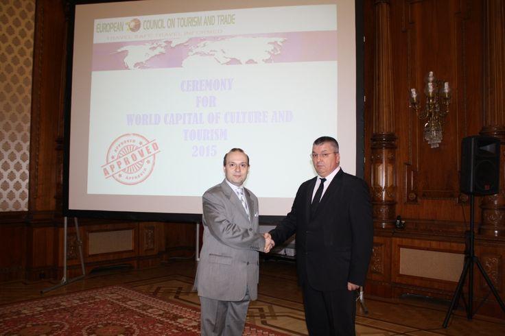 ECTT President and UNESCO Committee Representative Senator Constantin Popa