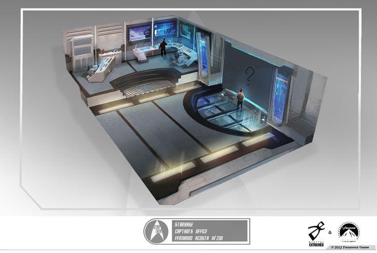 Star+Trek+The+Video+Game+concept+art+starbase+office.jpg 1,200×805 pixels