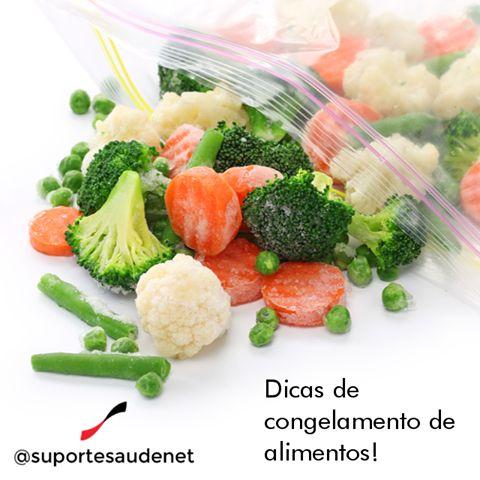 Quer deixar sua alimentação mais saudável mais está sem tempo?! Congele seus alimentos!