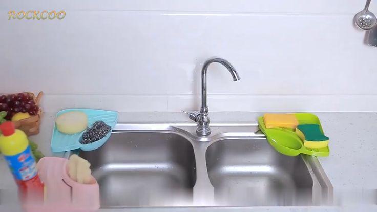 kitchen sink multifunctional storage rack video in 2020 storage rack sink storage on kitchen organization tiktok id=96210