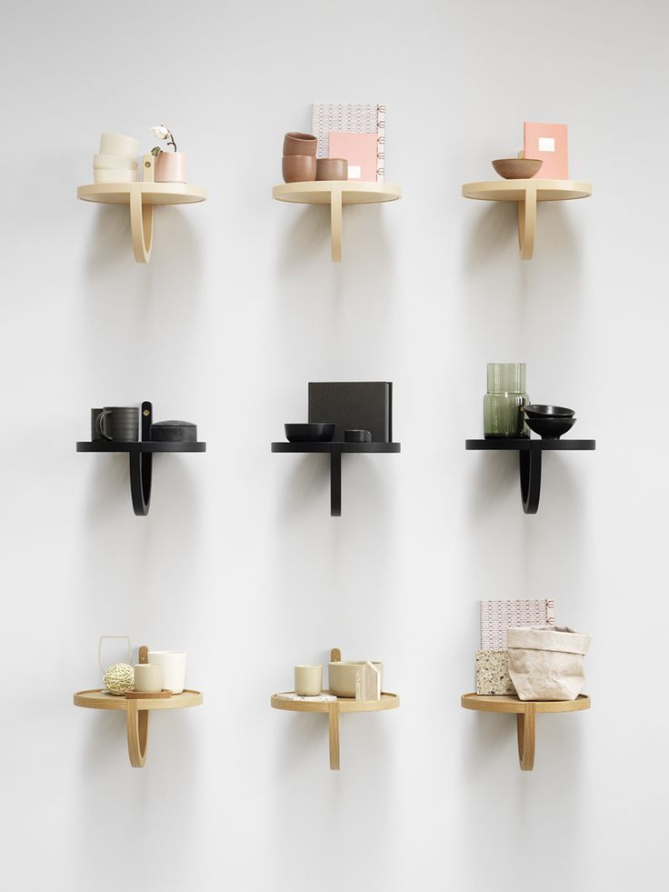 Archetto, a neat little shelf for Fogia. Launched last week at Salone del Mobile in Milano.