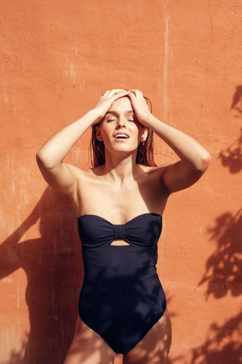 Maillot de bain une pièce marine, Paresse inspirée, Ysé #frenchbrand #swimwear #maillotdebain #summer #été