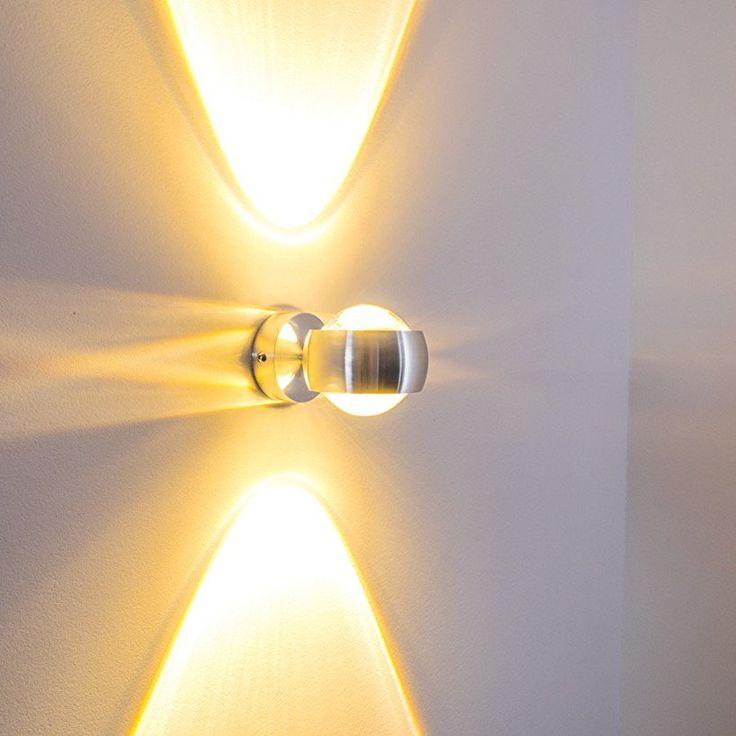 18 besten led wandleuchten wandlampen bilder auf pinterest for Wohnzimmerleuchte led
