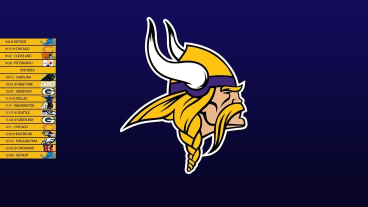 Minnesota Vikings 2013 Schedule Wallpaper