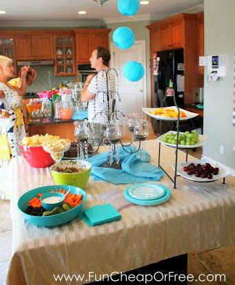 wedding shower decorations cheap cheap or free bridal shower ideas 1148