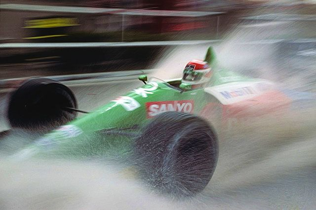 Nelson Piquet, Benetton B189B, 1990 US GP