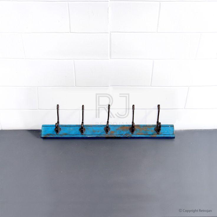 Jesse 5 Hook Rack - Blue | $69.00