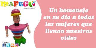 MAFEGO COMERCIALIZADORA DE MATERIAL DIDACTICO: Feliz día de la mujer