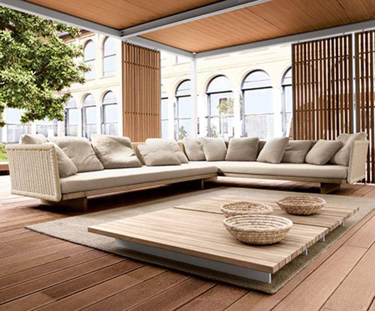 Modern Wooden Sofa Designs For Home  Sofas  Pinterest  Modern, Design  for home and Wooden sofa designs