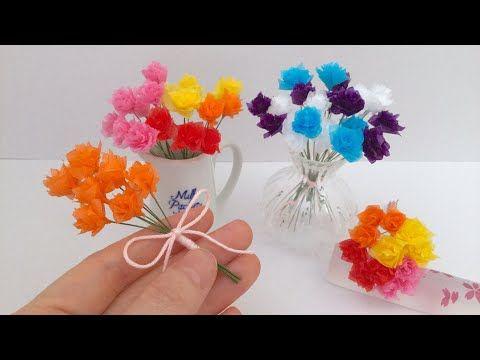 花粹����_お花紙で簡単に作ることが出来ます。しかも小さいので半端で
