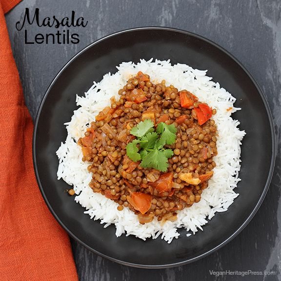 Masala Lentils from Vegan Richa's Indian Kitchen by Richa Hingle