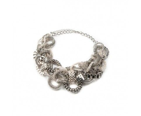 Giant Silver Necklace - Chain - Necklaces - Jewellery
