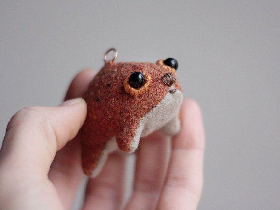 Muta  tiny little creature  natural materials wool by MUTAtoys