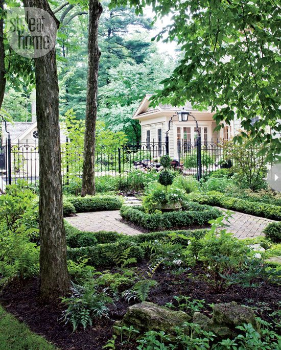 From Style At Home. Garden In Oakville