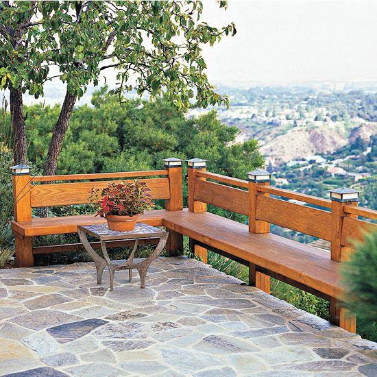 Deck Bench Seating: Best 20+ Stone Deck Ideas On Pinterest