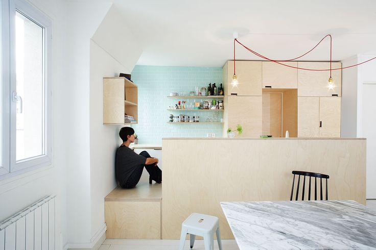 joinery / seating / plywood