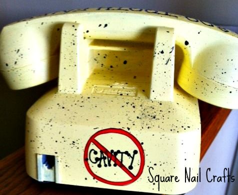 Here is the back of my handpainted Tooth Fairy phone. Painted for a dental office! www.facebook.com/squarenailcrafts
