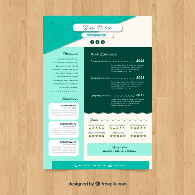 18 best resume images on pinterest curriculum resume templates resume paper - Resume Paper
