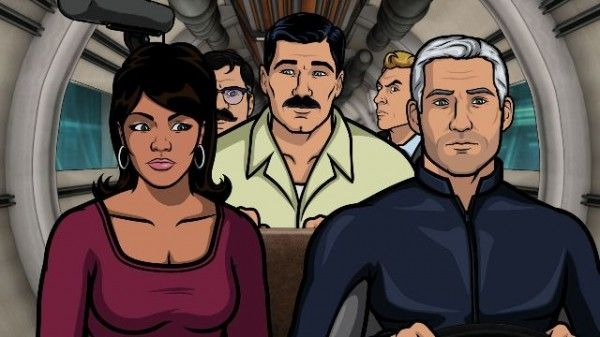 """""""Archer: Sea Tunt: Part II"""" Review: What Will Season 5 Have In Store - While the first half of the episode didn't exactly tread new ground (Mallory is still an alcoholic, Cheryl and Pam are still buddies, and Cyril and Ray get bullied by Archer), the final half made up for the initial lackluster performance. Jon Hamm's character suddenly becomes outrageously hilarious, and Lana takes center stage in an unpredictable plot twist. (Rating: 8.5/10) #Archer #SeaTunt #ArcherSeason4 #Vlizzards"""