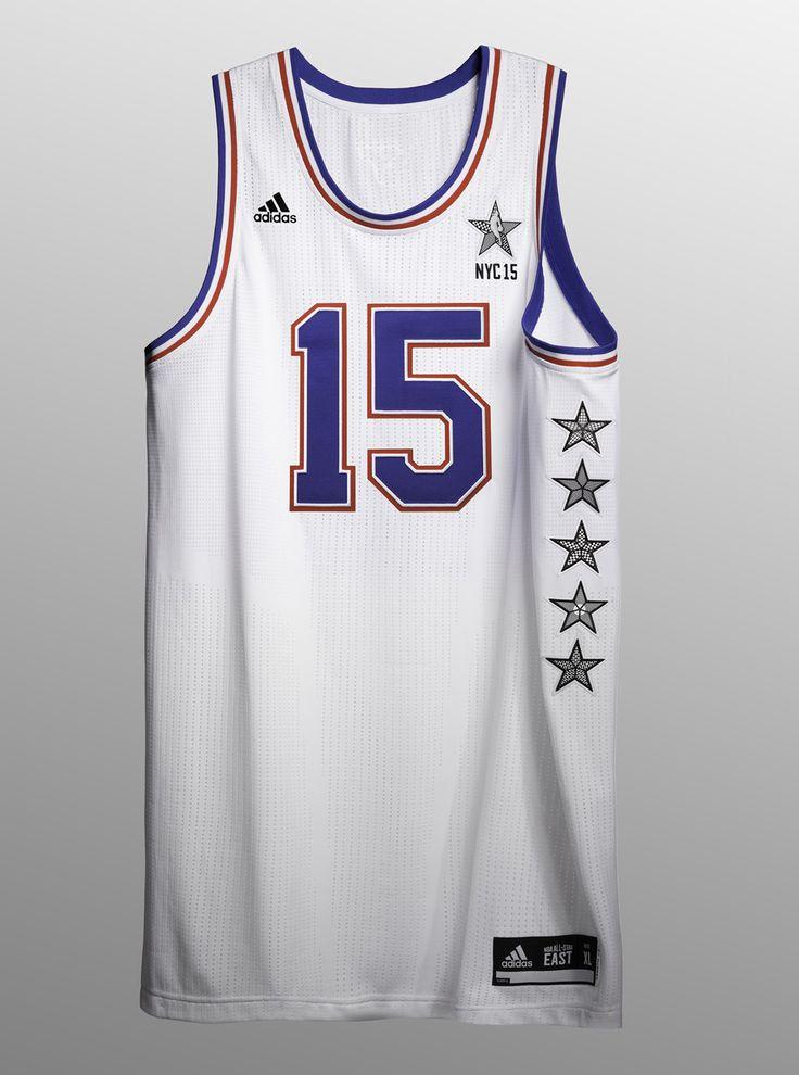 2015 NYC NBA All-Star Game Uniforms x adidas