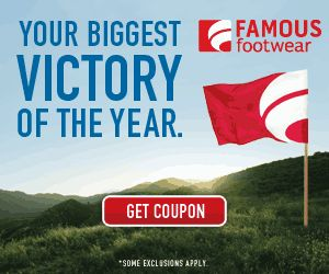 Famous Footwear: BOGO (Buy One Get One Half Off) Plus 15% Off Back to School