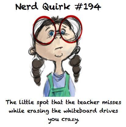 nerd quirk #194