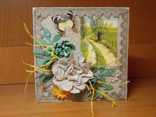 скрапбукинг и не только.....: открытки из ткани