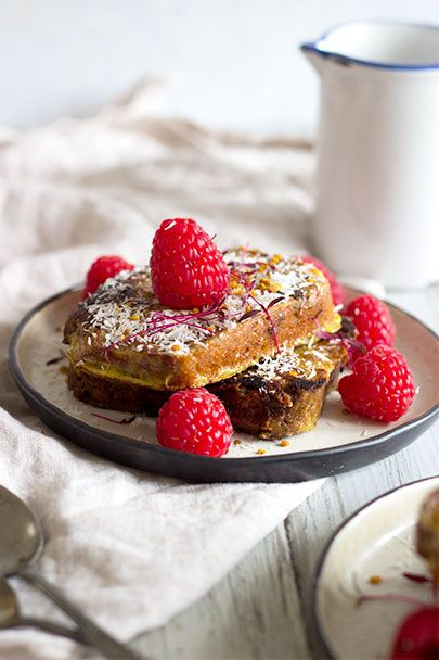 Post Workout Banana Bread French Toast